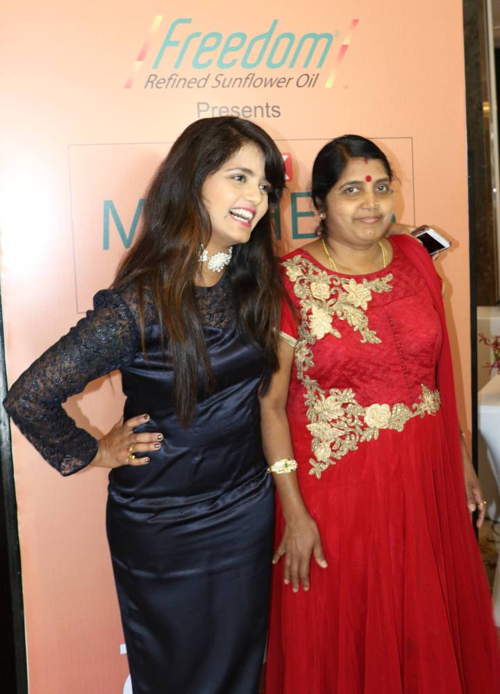 Mayuri with Mother