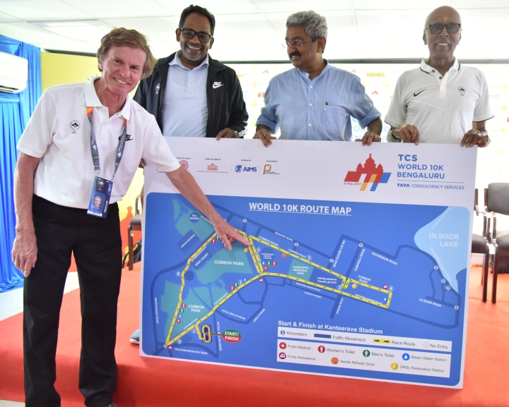 TCS World 10K-Route unvealing pic