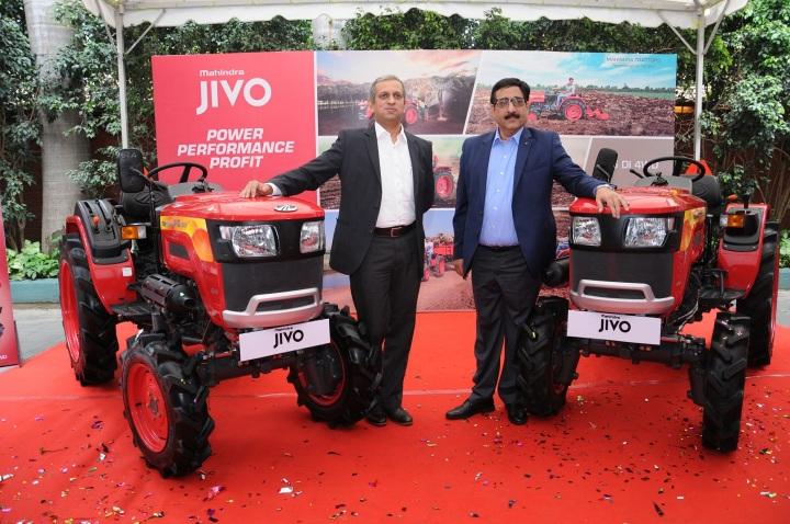 Mahindra Launches JIVO in Bangalore