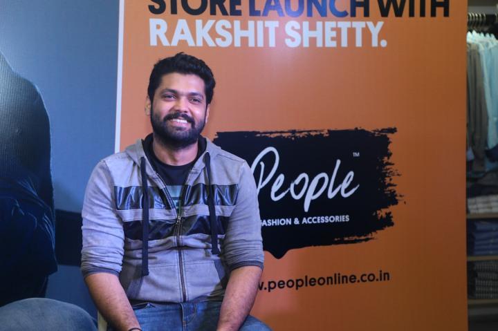 Sandalwood actor Rakshit Shetty launches People's new store at Nagarbhavi
