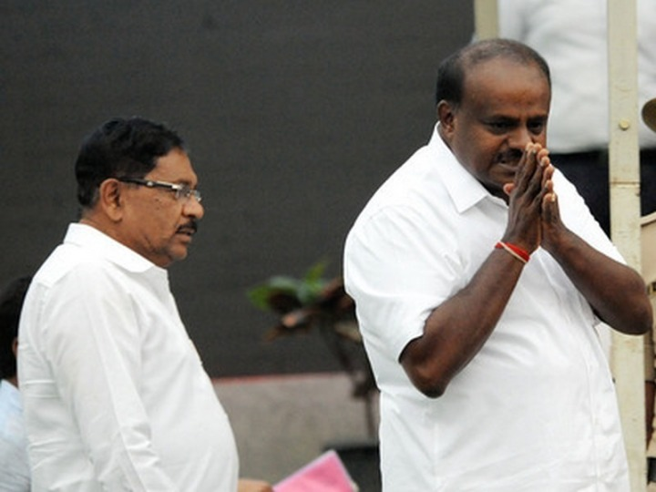 H D Kumaraswamy Swearing in Ceremony