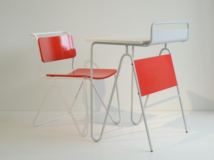 Spaghetti Desk and Chair