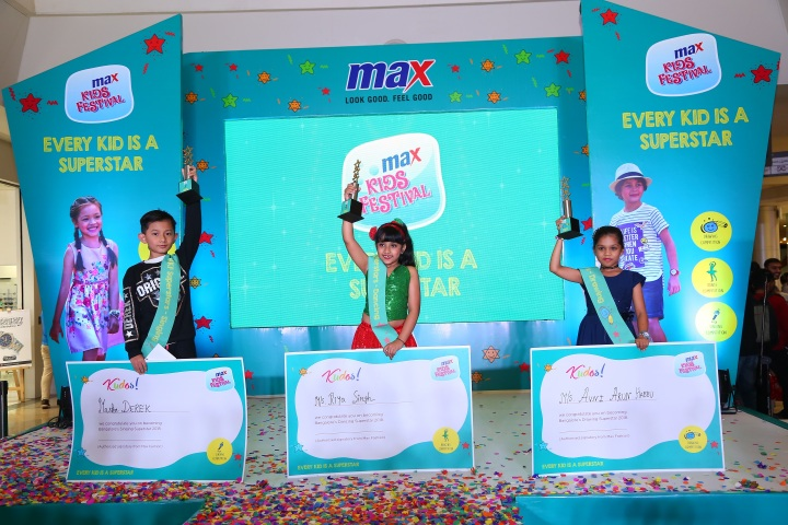 Max Kids Fest 2018 Bangalore Winners
