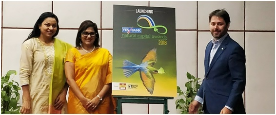 YES BANK launched Natural Capital Awards 2018 during Natural Capital Forum