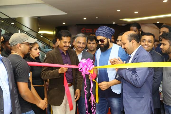 Lifestyle store launch ribbon cutting