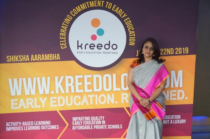 mridula shridhar – co-founder and director, kreedo early childhood solutions