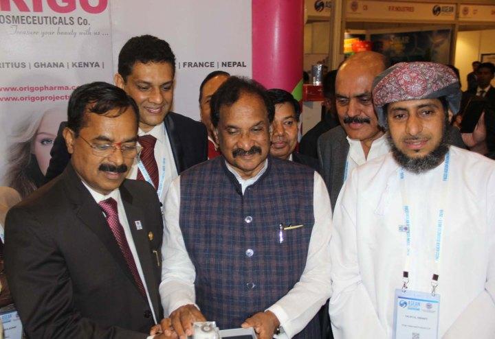 1-KJ George, MLA- Sarvagna Nagar. Minister for Large & Medium Scale Industries and Dr Salim Al Rawahy , an International Environment Expert & Chairman, Silver Bird Training L.L.C