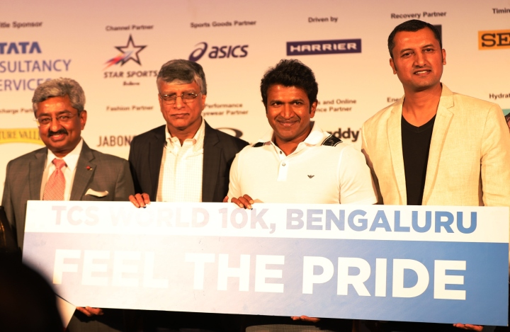 TCS World 10K Bengaluru 2019-Launch PC Pic