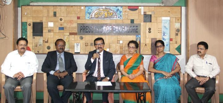 1-Dr. Sathish KS, President, Karnataka Pulmonology Association