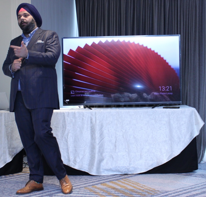 Mr.Avneet Singh Marwah - CEO-SPPL launches official Android Series in Bangalore.
