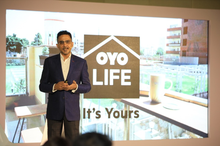 Rohit Kapoor CEO New Real Estate Businesses OYO at the first anniversary...