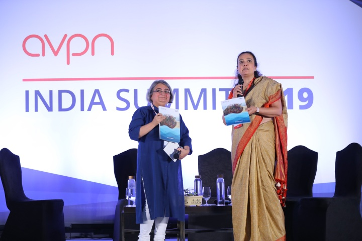 Siddhi Mankad (Catalyst Foundation) & Naina Subberwal Batra of AVPN