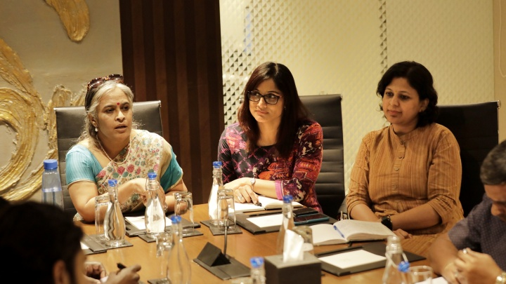 L-R-Geetha Kannan, Founder and Chief Executive Officer, Wequity,Abhinaya S Rao, Chief BusinessOfficer and Founding Member, Wequity and Divya Ravindranath, Chief CommunityOfficer and Founding Member, Weq